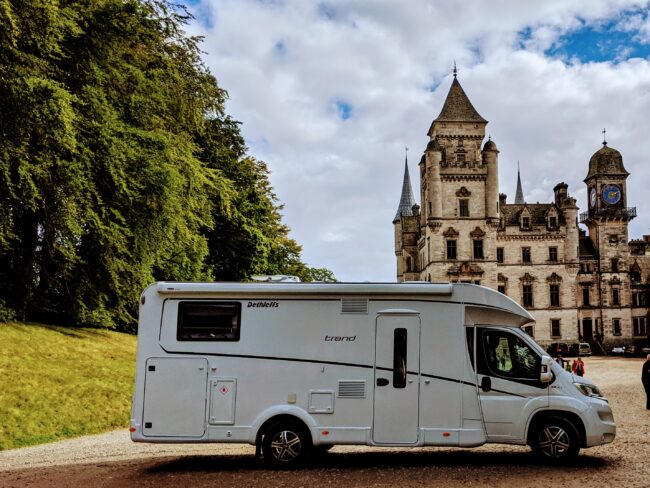 Touring the NC500 in Scotland . This was Dunrobin Castle August 2020. Trend 2019